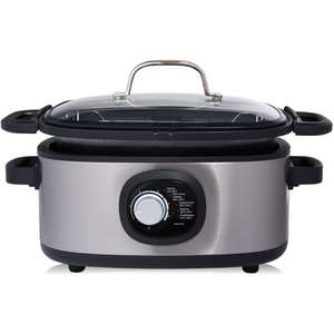 1/2 Price : 5.6L Multi Cooker With Deep Fryer & 2 Years Guarantee Was £40 - Now £20 @ Wilko