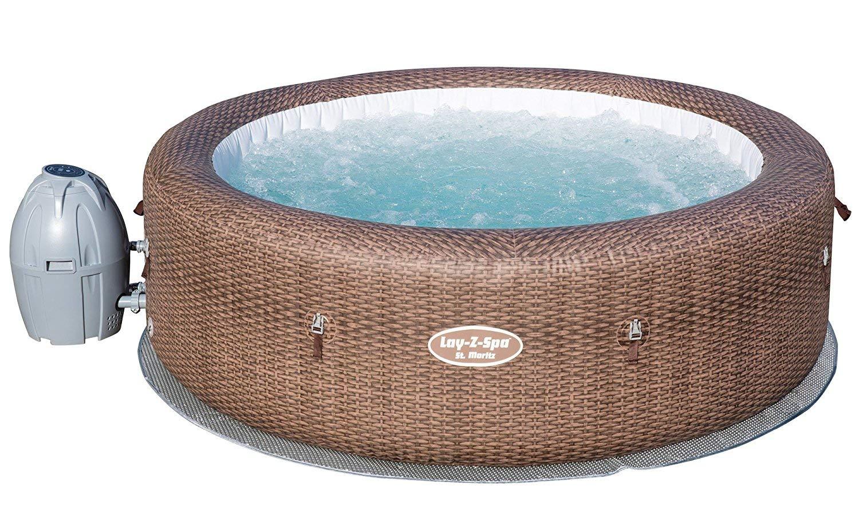 Lay-Z-Spa St Moritz Hot Tub 5-7 Person, £439.99 @ Amazon
