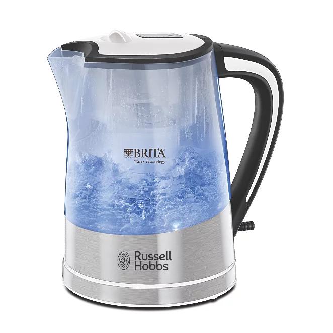 Russell Hobbs 22851 Brita Purity Filtered Kettle  £23.00 free C&C @ George Asda - 1 Year Warranty