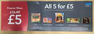 Coop frozen meal deal  £5 (freezer fillers) from 8th