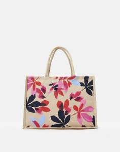 Joules Woodland Trust Jute shopping bags in animal or floral designs £4.86 each delivered plus £1 donation to Woodland Trust @ eBay / Joules