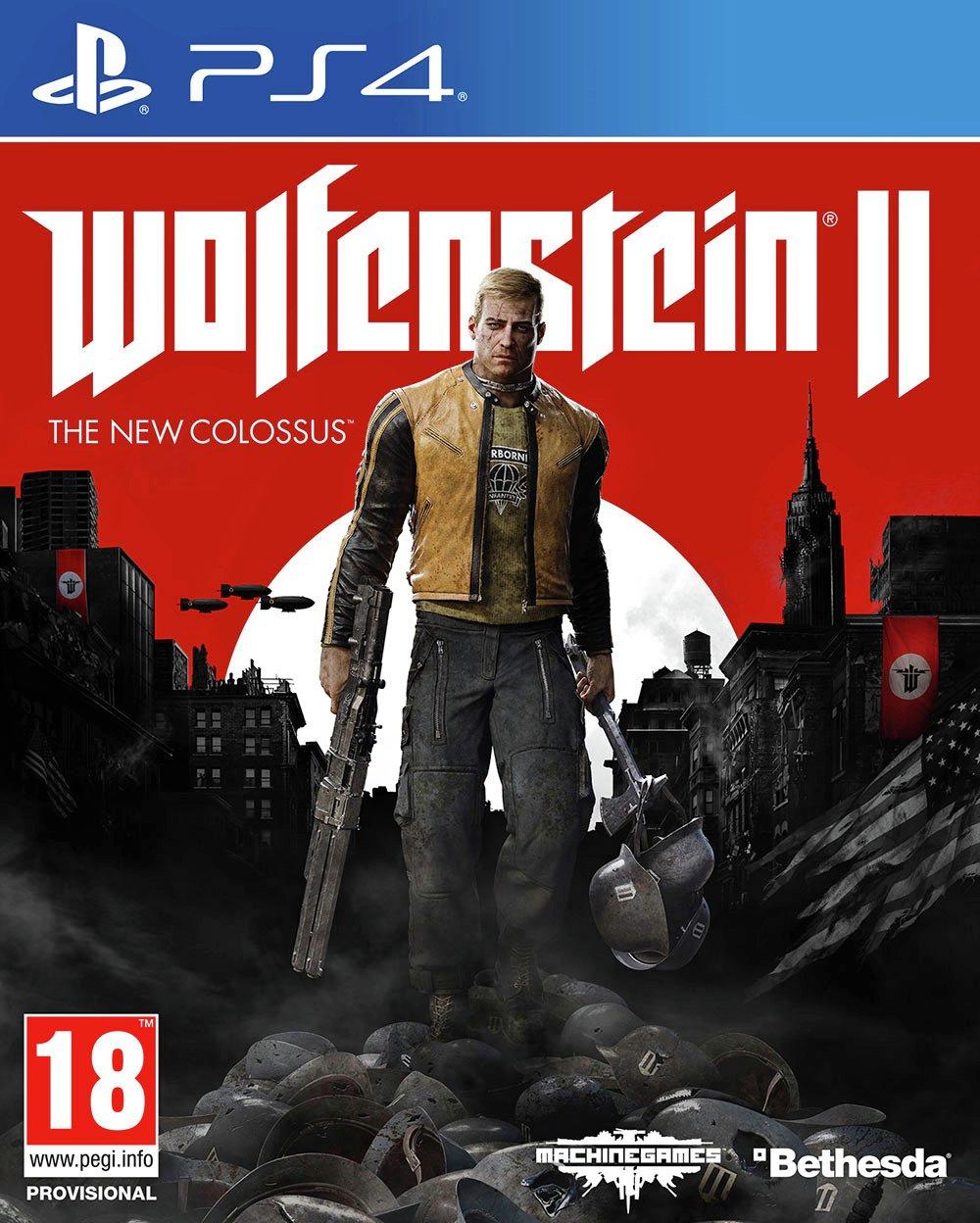Wolfenstein 2: The New Colossus PS4/Xbox1 - £12.49 @ Argos