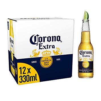 12 x 330ml Corona Extra Beer £8 @ Tesco