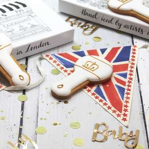 FREE 'Royal Baby' biscuit - delivered -  on O2 Priority from Biscuiteers