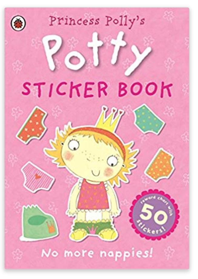 Princess Polly's Potty sticker book £1.99 @ Amazon Prime / £3.98 Non Prime