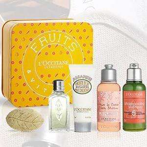 Free Spring Tin when you Spend £45 with Code @ L'Occitane