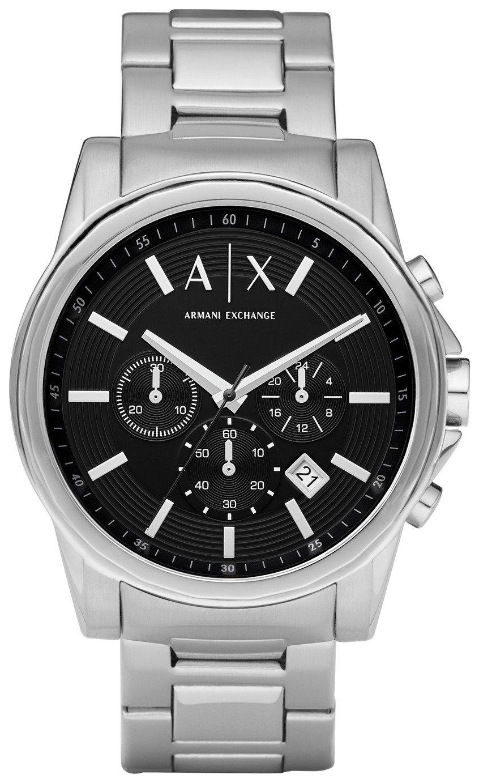 Armani Exchange Men's Stainless Steel Chronograph Watch - £79.99 @ Argos