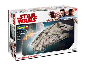 REVELL 1/72 STAR WARS CLASSIC MILLENNIUM FALCON MODEL KIT - £49.49 @ Wonderland Models (£3.99 delivery)