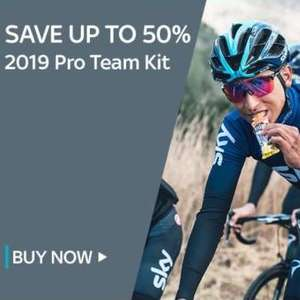 60% off teamsky 2018 50% off 2019 cycling clothing @ Sky Store