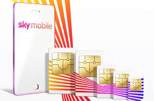 Sky Mobile existing customer - unlimited mins/texts from £1