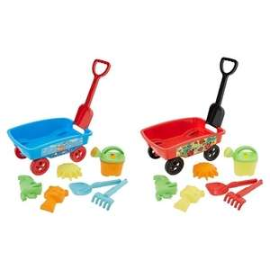 Carousel Lets Go Sand Wagon £7 each or 2 for £8 in Mix & Match Outdoor Toys Offer - online / instore @ Tesco