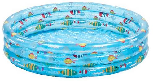 Carousel 3 Ring Pool 120Cm (From 07/05) - £7 @ Tesco