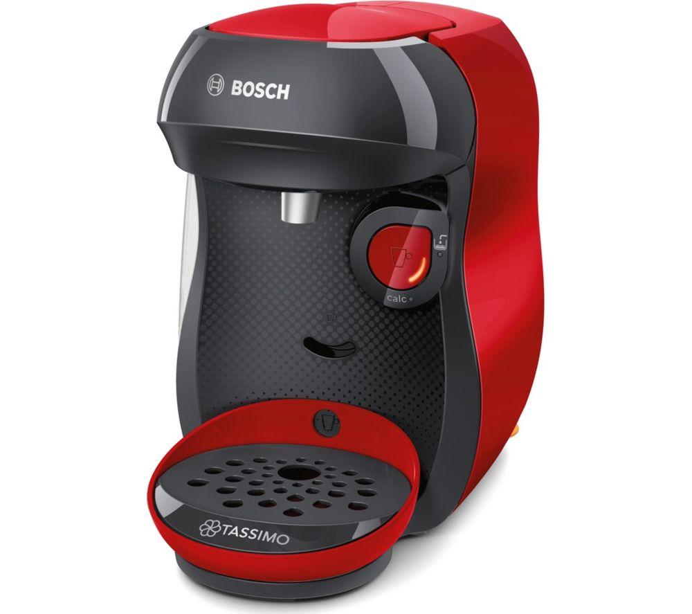 TASSIMO by Bosch Happy TAS1003GB Coffee Machine - Red - £39.99 @ Currys