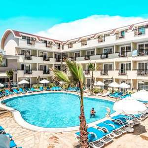 (2 Adults + 2 Children) 7 Nights All Inclusive at the Sun City Apartments (Turkey) £144p/p (Departing Stansted ) @ Thomas Cook