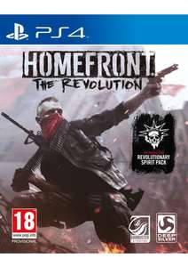 Homefront The Revolution PS4 (new&sealed) £2.99 delivered @ SimplyGames