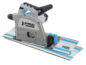 Mac Allister or Titan 1200W 220-240V 165mm Plunge saw MSPS1200 / Track Saw B&Q In Store £55
