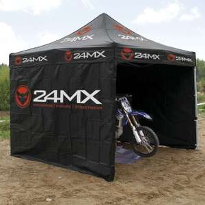 24MX Eace Tent 3x3m Easy-up Incl 3 Walls £79.99 / £89.98 delivered at 24mx