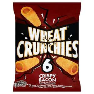 Wheat Crunchies or Discos (6 pk) Now just 25p each at Poundstretcher (in-store)