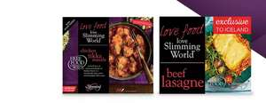 Any 2 for £5 on Slimming World meals or meats @ Iceland - (Full list included)