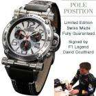 Pole Position White Limited Edition Swiss Made Regnier Timepiece £249 @ BuyCosmetics