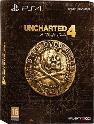 Uncharted 4: Libertalia CE (Statue + Artbook + Steel Case) £45 Cex