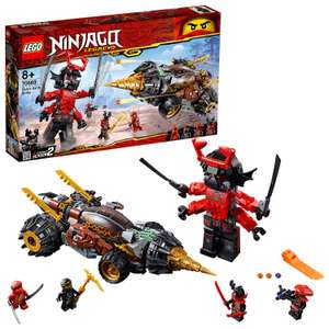 LEGO 70669 Ninjago Legacy Cole's Earth Driller RRP £44.99 NOW £32.97 delivered at Amazon