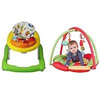 Baby Walker & baby Play Gym bundle £31.99 @ ASDA direct (Free C&C)