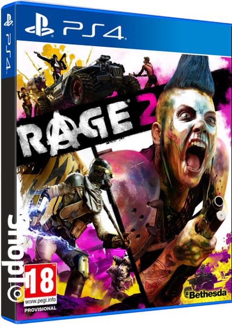 Rage 2 + Exclusive Pin Badge Set (4) + Pre-Order Bonus £42.85 @ ShopTo