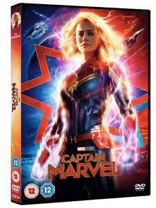 Captain Marvel (2018) DVD £8.99 With code @ Zoom (Blu/3D/4K Also 10% off with code)