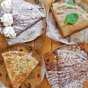 Free Crepe of your Choice on your Birthday with App @ Crêpeaffaire