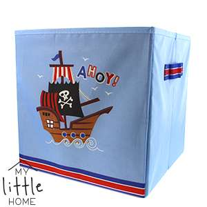 Pirate Ship Ahoy! Cube Storage Box @ Home Bargains £1.99
