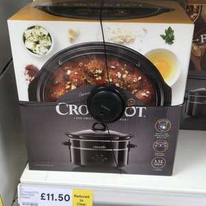 3.5L Crockpot Slow Cooker, in store at Tesco - £11.50 (Chineham)