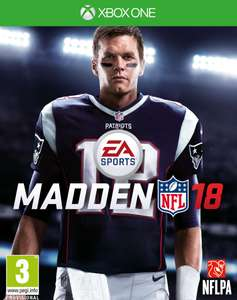Madden NFL 18 Xbox one for 9.99 Delivered @ Coolshop