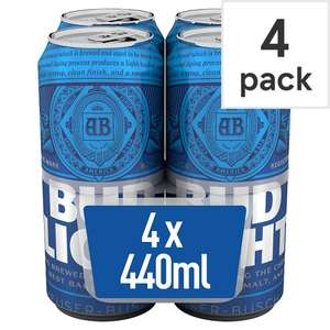 Bud Light Can 4 x 440ml  - £2 @ Premier Stores