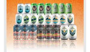 24 Craft Beers DELIVERED for £25.85 @ Flavourly (£1.07 per can to your door)