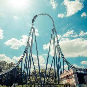 Thorpe Park Entry overnight stay unlimited fast track - £47pp (£94) @ Thorpe Park