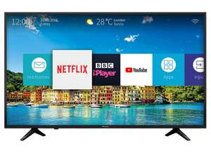 Hisense H43A6200UK 43-Inch 4K Ultra HD Smart TV with Freeview Play - Black (2018 Model) - £259 delivered @ Amazon (+2 years warranty)