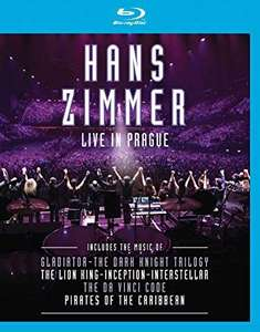 HANS ZIMMER: LIVE IN PRAGUE Blu-Ray Concert In Dolby Atmos to - £8 Delivered @ Amazon Germany.