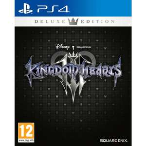 Kingdom Hearts III Deluxe Edition (PS4) for £30 delivered @ Smyths