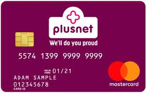 12GB 4G Data - Unlimited Calls & Texts - 12 Months Sim - £15 Monthly (£180 for 12 Months) - Reward Card Included @ Plusnet Mobile