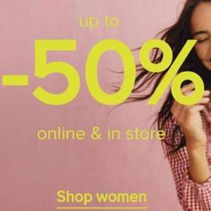 Upto 50% off sale instore and online Monsoon