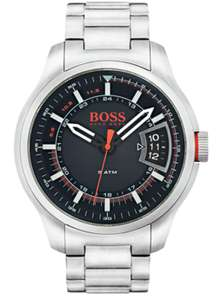 Hugo Boss Orange Hong Kong Men's Silver Steel Watch £99.99 @ Argos