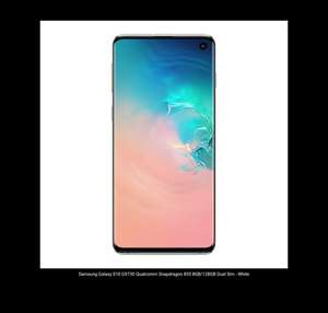 Samsung Galaxy S10 G9730 Qualcomm Snapdragon 855 8GB/128GB Dual Sim - White £509.19 @ Eglobal Central