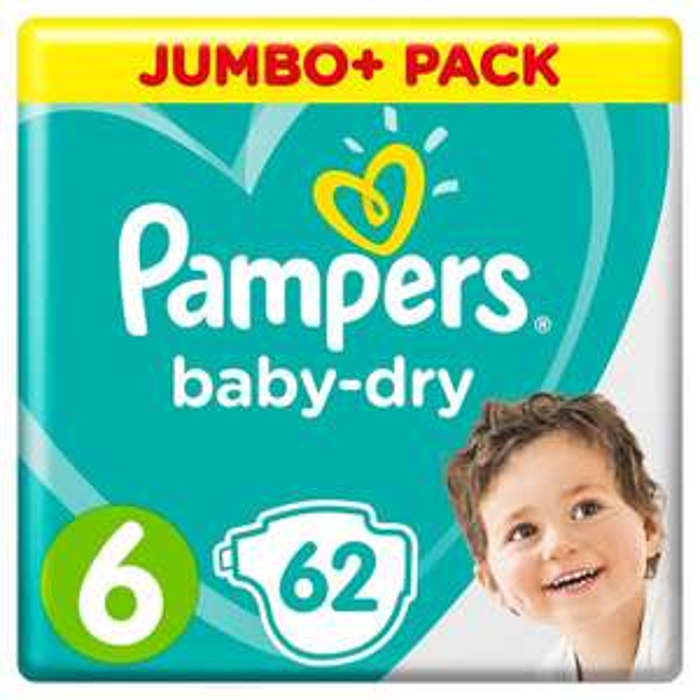 Pampers Jumbo packs £8 Morrisons