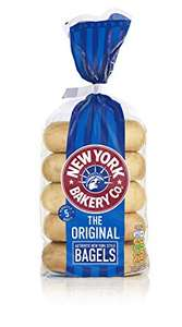 New York Bakery Bagels 5 Pack, 60p with Tesco Magazine voucher