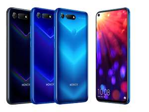 Honor View 20 Blue or Black (128GB) £389 at mobiles.co.uk
