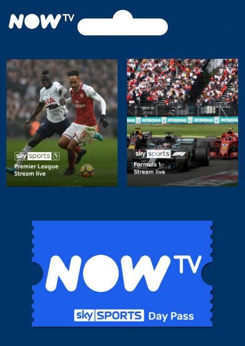 NOW TV 1 Day Sky Sports Pass £3.99 @ CDKeys
