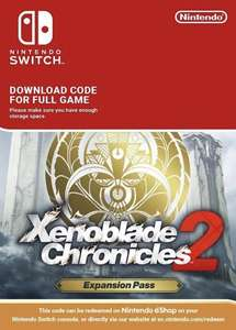 Xenoblade Chronicles 2: Expansion Pass Switch £20.99 @ CDkeys