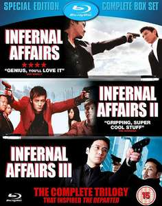 Infernal Affairs TRILOGY (Blu-ray) - £7 / £12 delivered @ eBay / smileyjanesstore