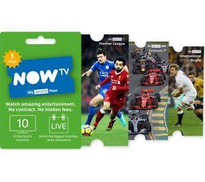 NOW TV Week Pass Voucher Card - £10 @ CurrysPCWorld / eBay